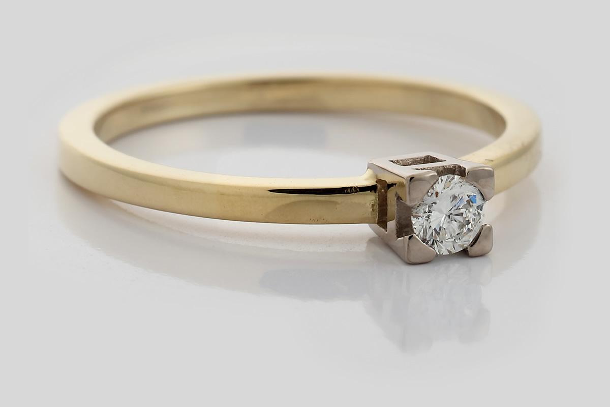 Roségold- & Weißgoldring