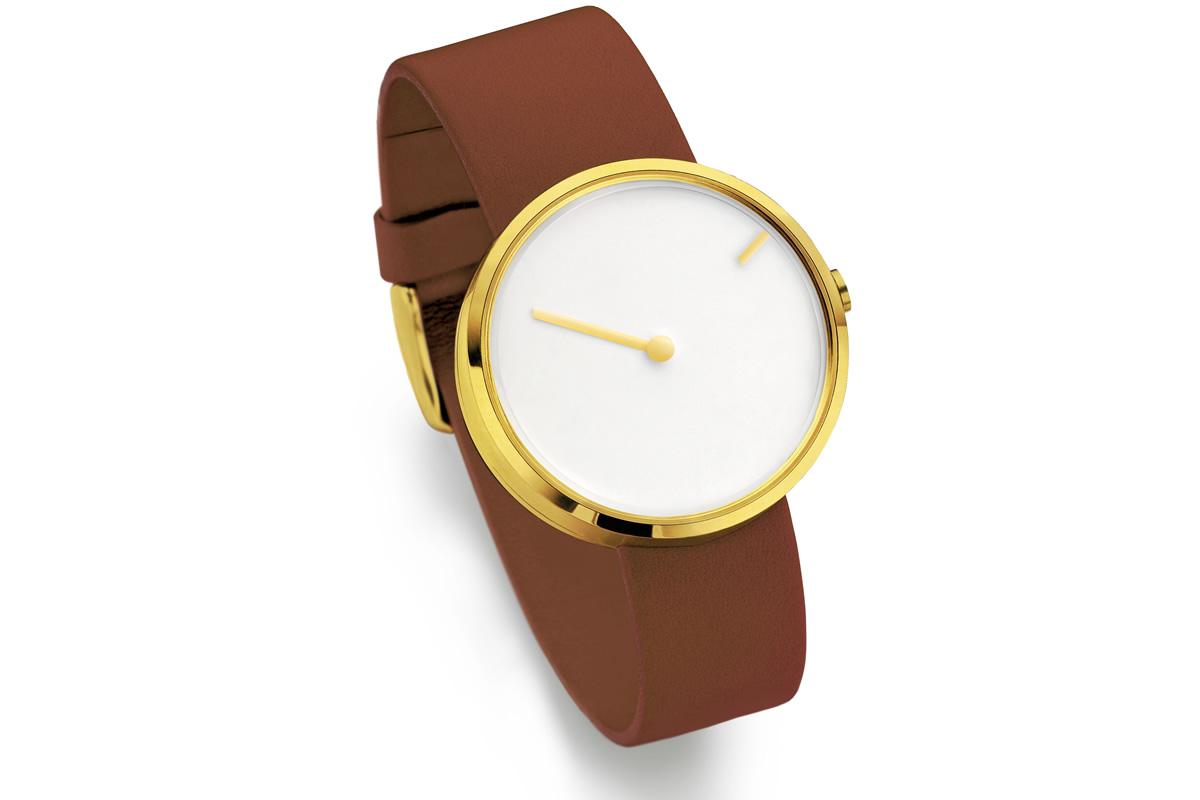 Uhr Curve Gold Jacob Jensen